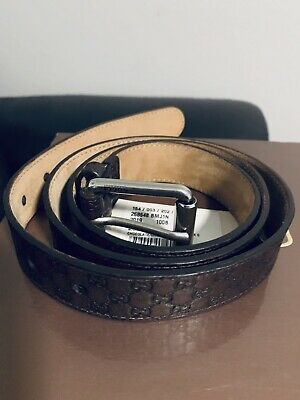 22f07ee3d67 GUCCI MEN S MICRO Guccissima Soft Leather Belt with Metal Buckle