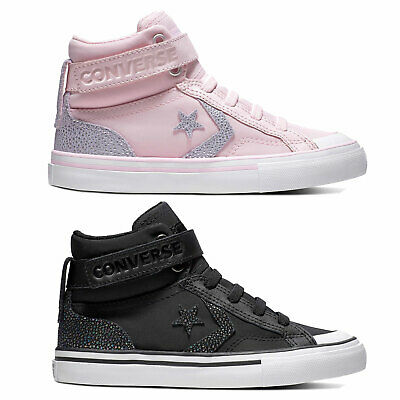f2fc22a7dc8c Converse pro Blaze Strap Hi Junior-Sneaker Trainers Children s Shoes Shoes  Girls