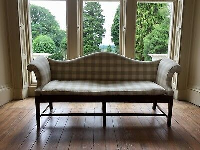 ANTIQUE 18th Century large country settee sofa - EXCELLENT sound condition