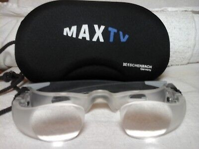 Echenbach MAX TV low vision device with case