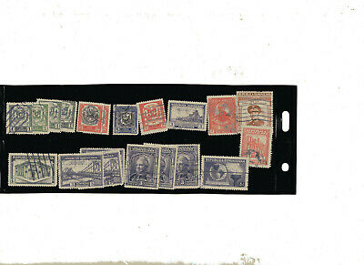 Selection of Stamps of Dominicana, FU, nice lot.