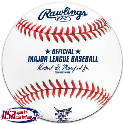 2019 Home Run Derby Rawlings Official MLB Baseball Cleveland Indians - Boxed