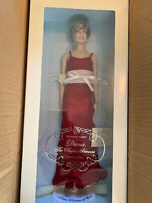 Princess Diana Porcelain and Vinyl Portrait Doll Collection - The Franklin Mint