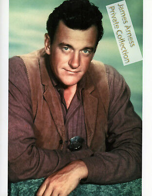 James Arness Private Collection Gunsmoke Marshal Dillon Color  8 x 10 Photo