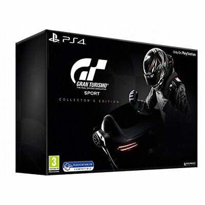 PS4-Gran Turismo Sport - Collector`s Edition /PS4 GAME NEUF