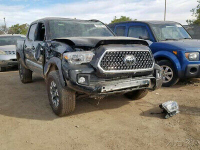 2018 Toyota Tacoma TRD Off Road 4x4 4dr Double Cab 5.0 ft SB 6A 2018 Toyota Tacoma TRD Off Road 4x4 4dr Salvage, repairable, rebuildable, damage