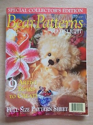 Bear Patterns To Delight~Bearverly~Lori~Rita~Wellington~Broome~Aunt Lavender...