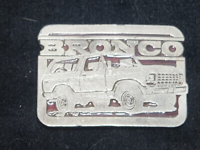 Very Rare Unique Vintage Ford Bronco Belt Buckle Amazing Piece Free Shipping!!!