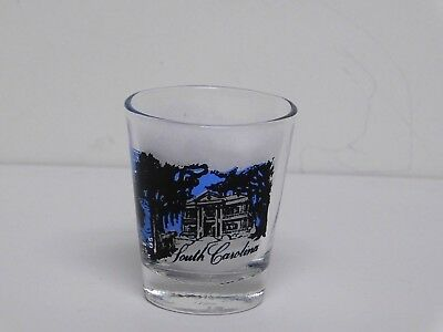 Vintage Collectible South Carolina Shot Glass Made in Taiwan New Condition