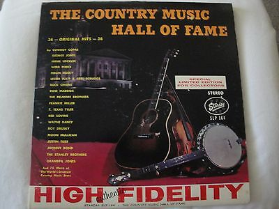 The Country Music Hall of Fame: 36 Original Hits: Starday Label SLP-164 VINYL EX
