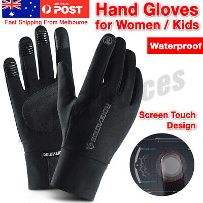 Gloves Winter Waterproof 1 Pair Youth Boys Fleece Warm Cycling Outdoor