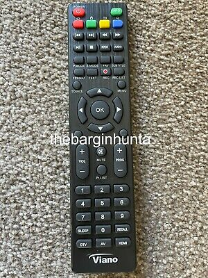 NEW Viano Replacement TV Remote Control LED40FHD, LED48FHD, LED49FHD, LED60FHD