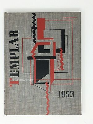 Temple University Yearbook 1953 Templar Philadelphia Pennsylvania PA