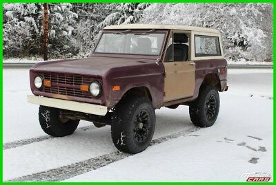 1970 Ford Bronco 302ci V8, Manual 4-speed, Twin Stick T-case 1970 Ford Bronco
