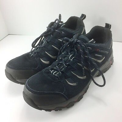 4596a14d0334 Karrimor Mens Mount Low 7 Weathertite Walking Shoes Lace Up Size 10.5 Navy