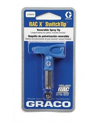 Graco Rac X SwitchTip LTX 415 Spray Tip Blue Size 415, NEW