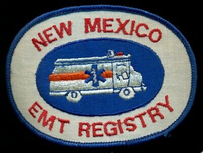 New Mexico EMT Registry Patch R-5