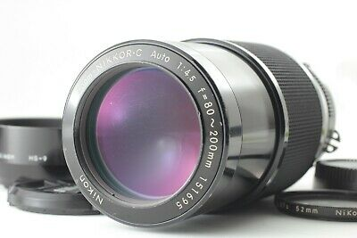 [As IS] Nikon Zoom Nikkor C Auto 80-200mm F/4.5 Ai Lens From Japan #390