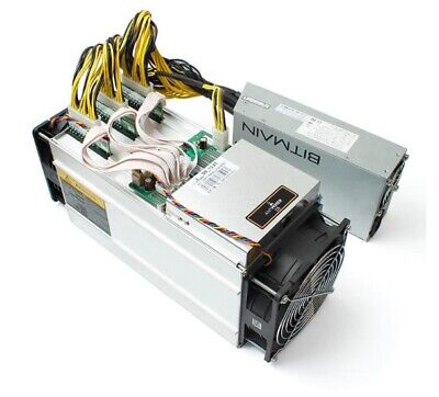 TWO Bitmain S9 Antminer 14TH/s with APW3++ PSU Fast Ship