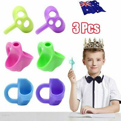 Children Pencil Holder Pen Writing Aid Grip Posture Correction Device Tool MN