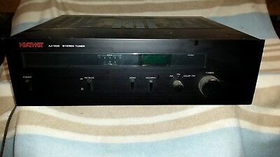 HEATHKIT AJ-1200 Stereo Tuner USED in Black  US 110V