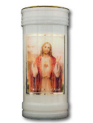 Devotional Candle - Sacred Heart Of Jesus - Catholic Ceremonial Candle - New