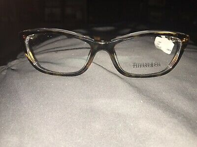 aff374da0970 Authentic Tiffany   Co. TF2074 8155 Tortoise Clear Rx Eyeglass Frames 52 16~
