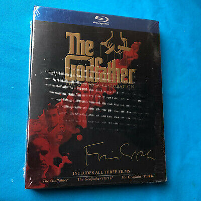 The Godfather Collection [Coppola Restoration] [4 Discs] [Blu-ray] NEW Sealed