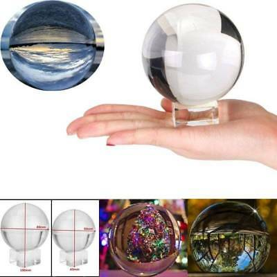 50MM/80MM Crystal Healing Ball for Photography Lens Ball Sphere Decor Xmas