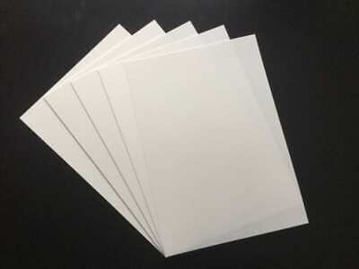 10 X PINK High Impact Polystyrene Plastic Sheets Vacuum Forming 2mm.