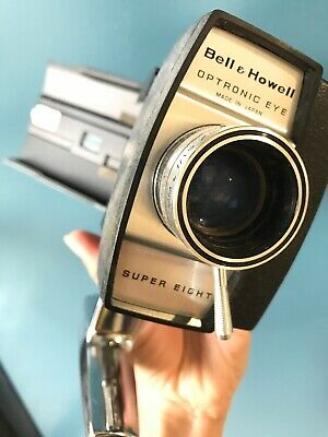 Vintage 1960's BELL & HOWELL Autoload Super Eight 431 Movie Camera