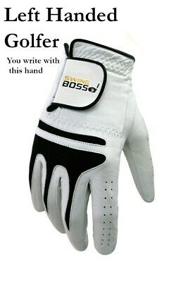 Genuine Cabretta Leather Golf Glove by Swing Boss - Medium or Large in LH and RH