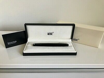 Authentic Montblanc Mont Blanc M by Marc Newson Black Resin Rollerball Pen