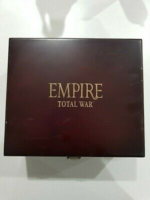 EMPIRE TOTAL WAR PC DVD ...lovly box and gift