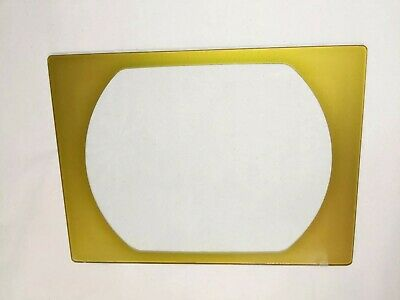 Vintage TV Television Screen Glass Lens