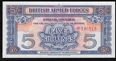 GB Military; British Armed Forces. 5 shillings. (1961). Watermarked. CD/1 146...