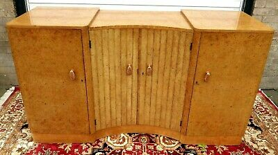 Epstein Genuine Art Deco Stunning Quality Maple Sideboard For A Nurses Charity