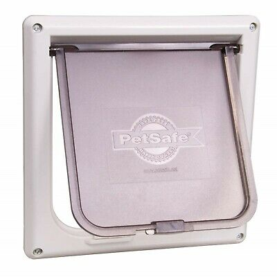 Interior 2-Way Locking Cat Flap Door Home Dog Entry Pet Exit Enter Tool PetSafe