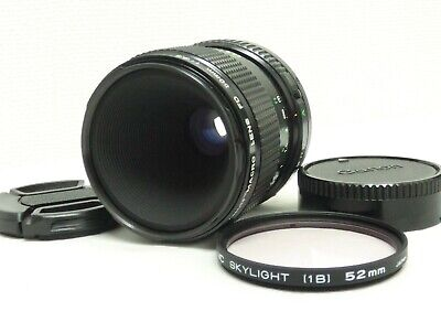 """Excellent++!!"" Canon NEW FD Macro 50mm F/3.5 W/Filter from Japan #98"