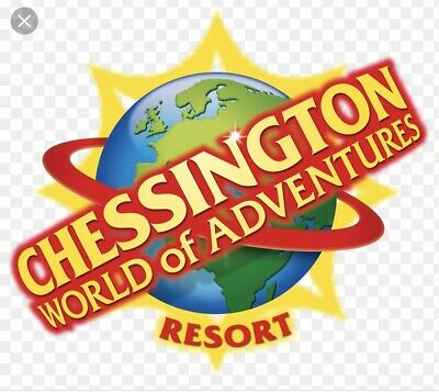 2x Tickets to Chessington World Of Adventures Resort , Thursday 11th July 2019