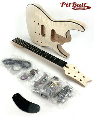 Pit Bull Guitars GS-2Q Electric Guitar Kit (Ebony Fretboard)