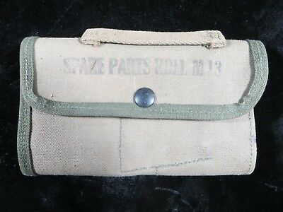 US Army WWII - Canvas M13 Spare Parts Roll - not marked  (1992)