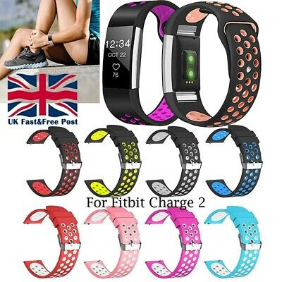 Soft Silicone Replacement Spare Sport Band Bracelet Strap for Fitbit Charge 2 √