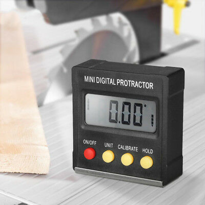 Inclinometro digitale mini casella livello goniometro Angle Finder smusso Gauge