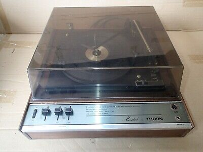 Minstrel by Thorn Vintage Record Player