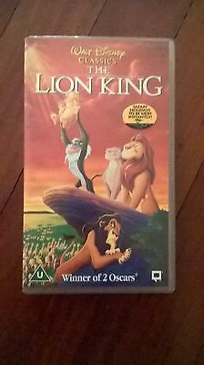 Disney - THE LION KING - VHS versione Inglese