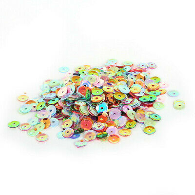 27g x 6.5mm Mixed Colour Sequins for Sewing Knitting Crafts Decor Embellishments