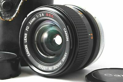 [Near Mint] Canon FD 24mm f/2.8 S.S.C SSC MF Wide Angle Lens from Japan #4
