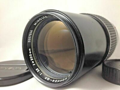 【NEAR  MINT】Minolta MC  Rokkor QF 200mm F/3.5 Tele MD mount Lens from japan #13