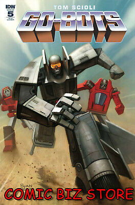 Go-Bots #5 (2019) 1St Printing Scioli Cover A Bagged & Boarded Idw Comics